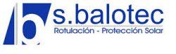 Balotec - rotulación - protección solar